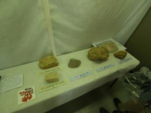 石室石材種類参考資料展示