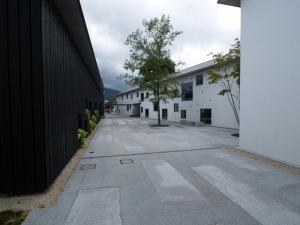 真壁伝承館中庭